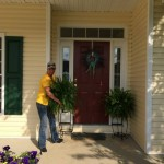Protecting homeowners plants